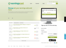 earningscast.com