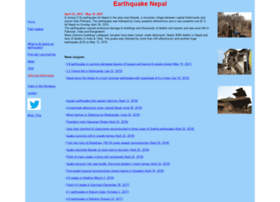earthquake-nepal.com