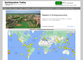 earthquakestoday.info