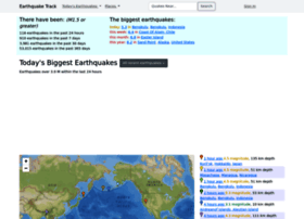 earthquaketrack.com