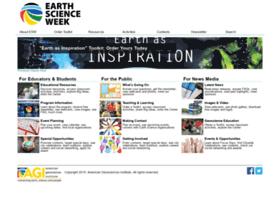 earthsciweek.org
