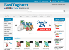easiyoghurt.co.uk