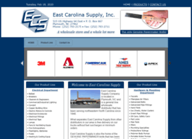 eastcarolinasupply.com