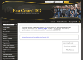 eastcentralisd.schoolfusion.us
