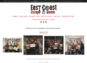 eastcoastescaperoom.com