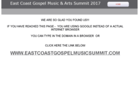 Eastcoastgospelmusic.homestead.com