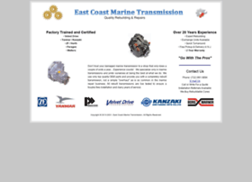 eastcoastmarinetransmission.com