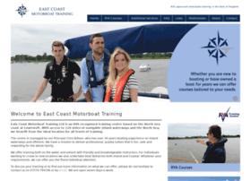 eastcoastmotorboattraining.co.uk