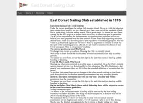 eastdorsetsailingclub.co.uk