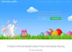 easterbunnyletter.com