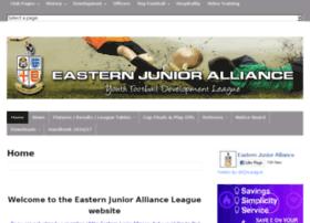 easternjunioralliance.com