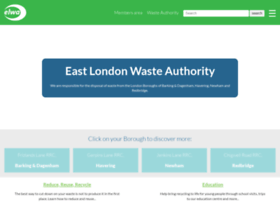 eastlondonwaste.gov.uk