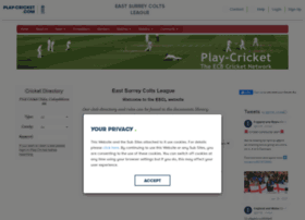 eastsurrey.play-cricket.com