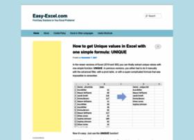 easy-excel.com