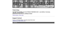 easy-online-tickets.com