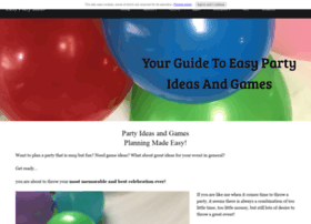 easy-party-ideas-and-games.com