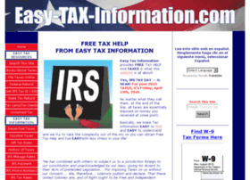 easy-tax-information.com
