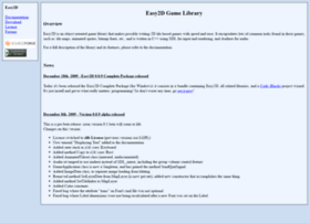 easy2d.sourceforge.net