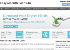 easy6monthloans4u.co.uk