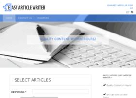 easyarticlewriter.com