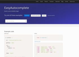 easyautocomplete.com