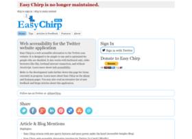 easychirp.com