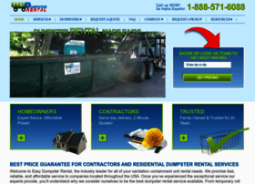 easydumpsterrental.com