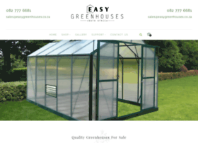 easygreenhouses.co.za