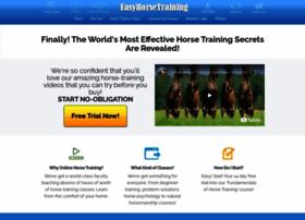 easyhorsetraining.com