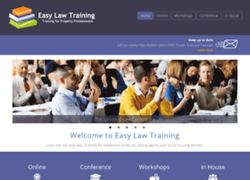 easylawtraining.com