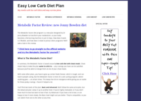 easylowcarbdietplan.com