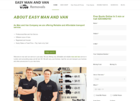 easymanandvanremovals.co.uk
