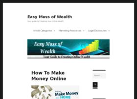 easymassofwealth.com