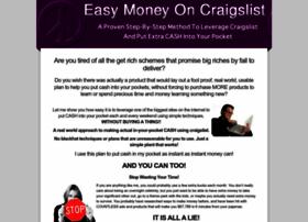 easymoneywithcraigslist.com