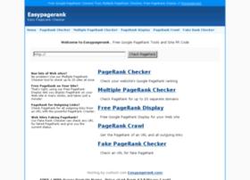 easypagerank.com