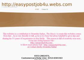 easypostjob4u.webs.com