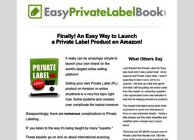 easyprivatelabelbook.com