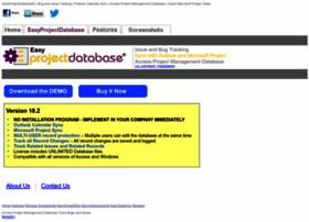easyprojectdatabase.com