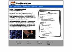 easyresumemaker.com