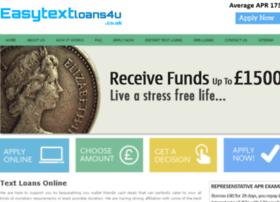 easytextloans4u.co.uk