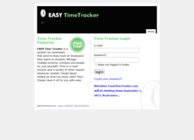 easytimetracker.com