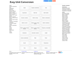 easyunitconversion.com