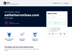 eatbetternotless.com