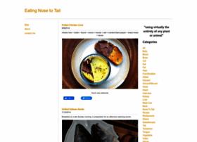 eatingnosetotail.com