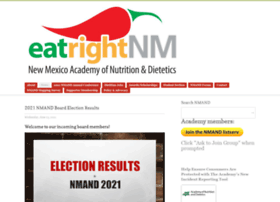 eatright-nm.org