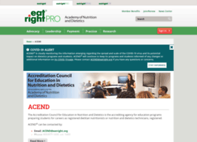 eatrightacend.org