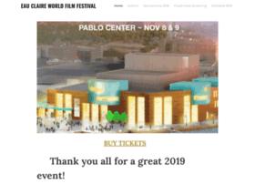 eauclaireworldfilmfest.com