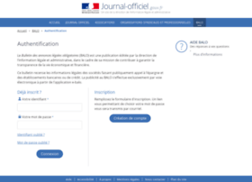 ebalo.journal-officiel.gouv.fr