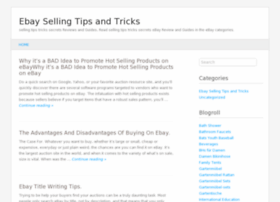 ebaysellingtipstricks.wordpress.com