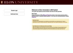 ebill.elon.edu